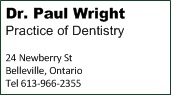Dr. PAul Wright